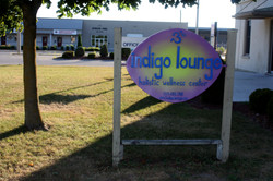 Indigo Lounge sign