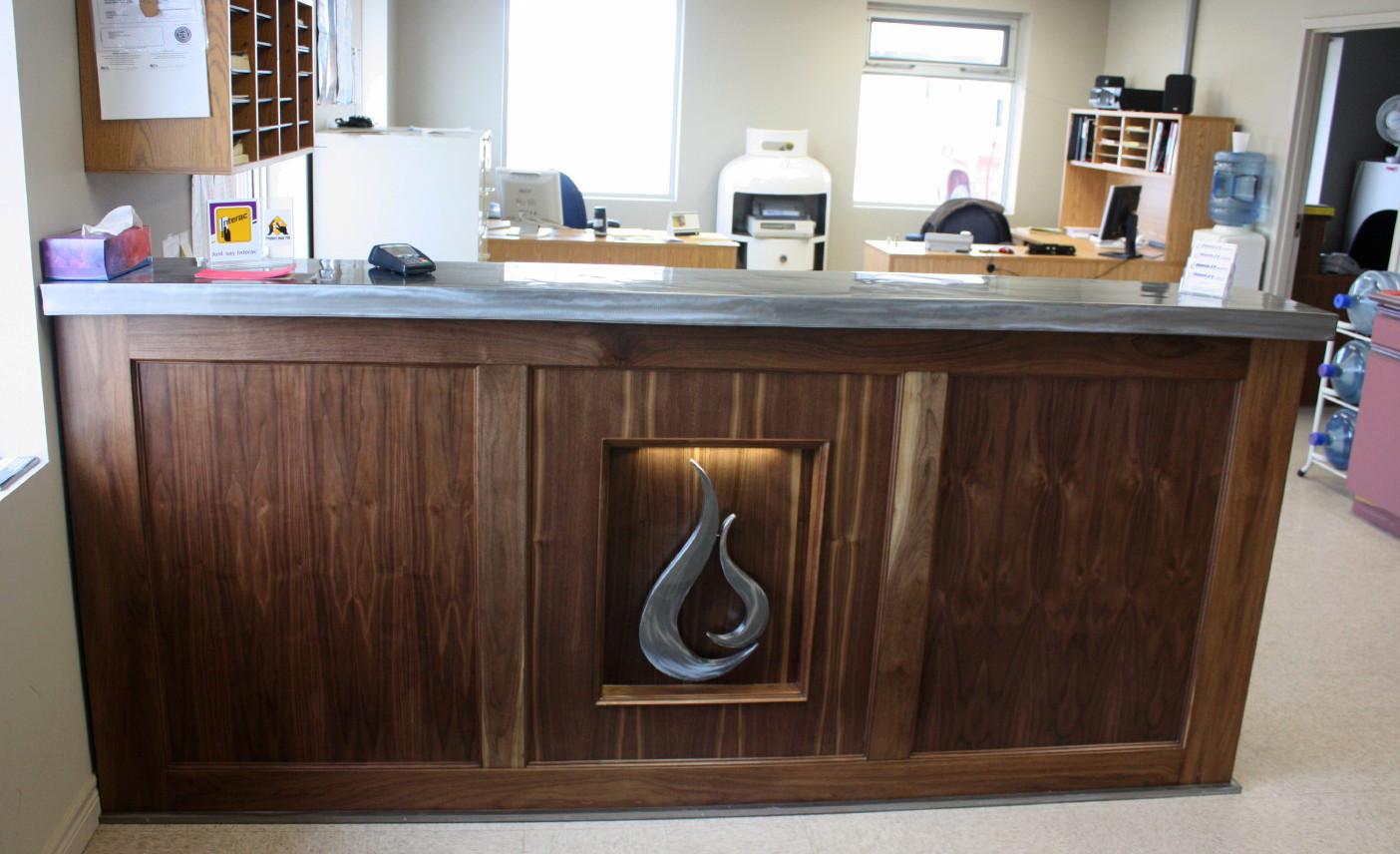 Dodsley Propane reception desk