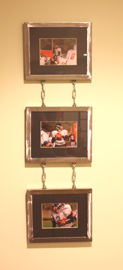 chain link metal frames