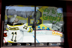 Stanley Cup celebration mural
