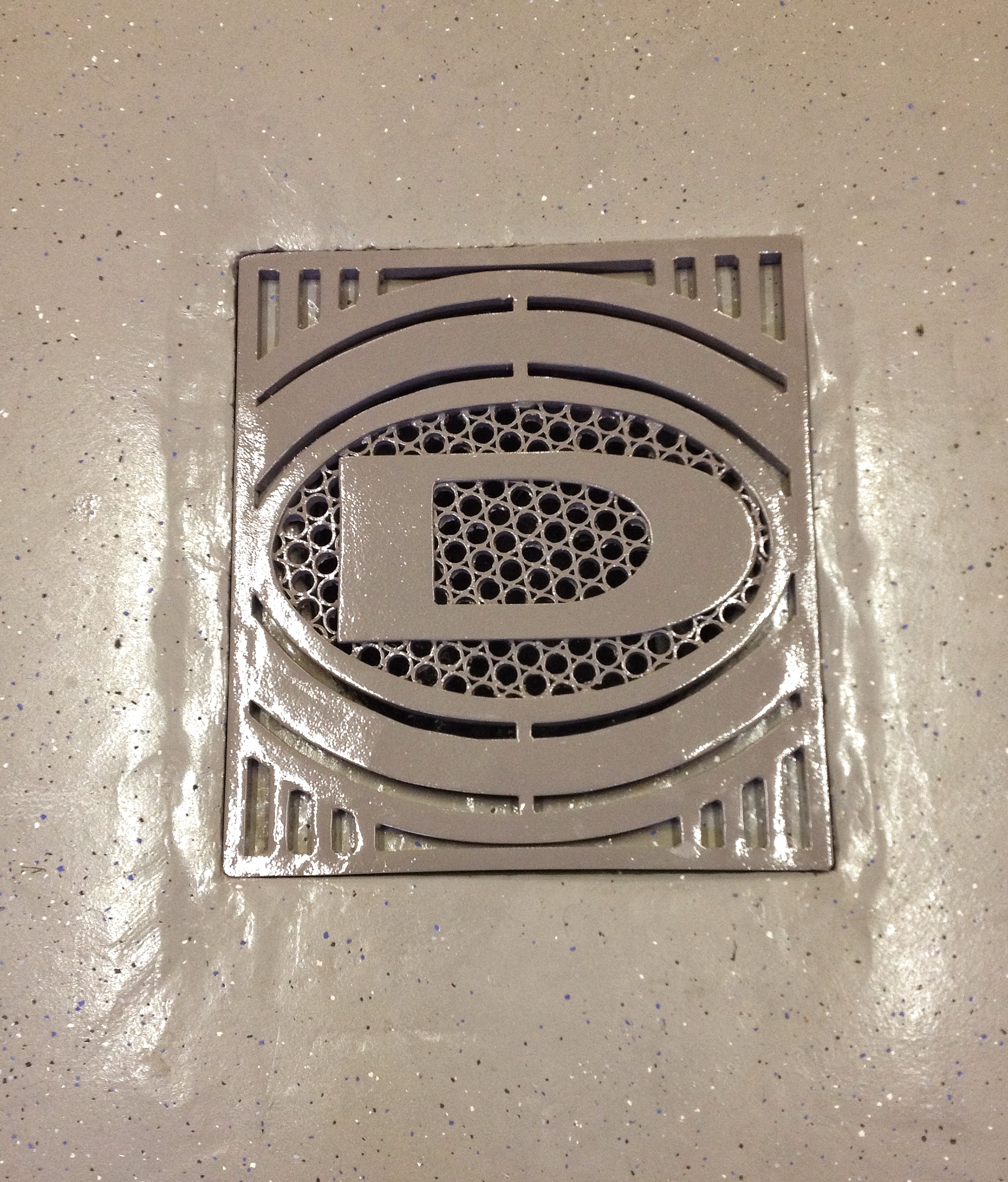Dodsley floor grate