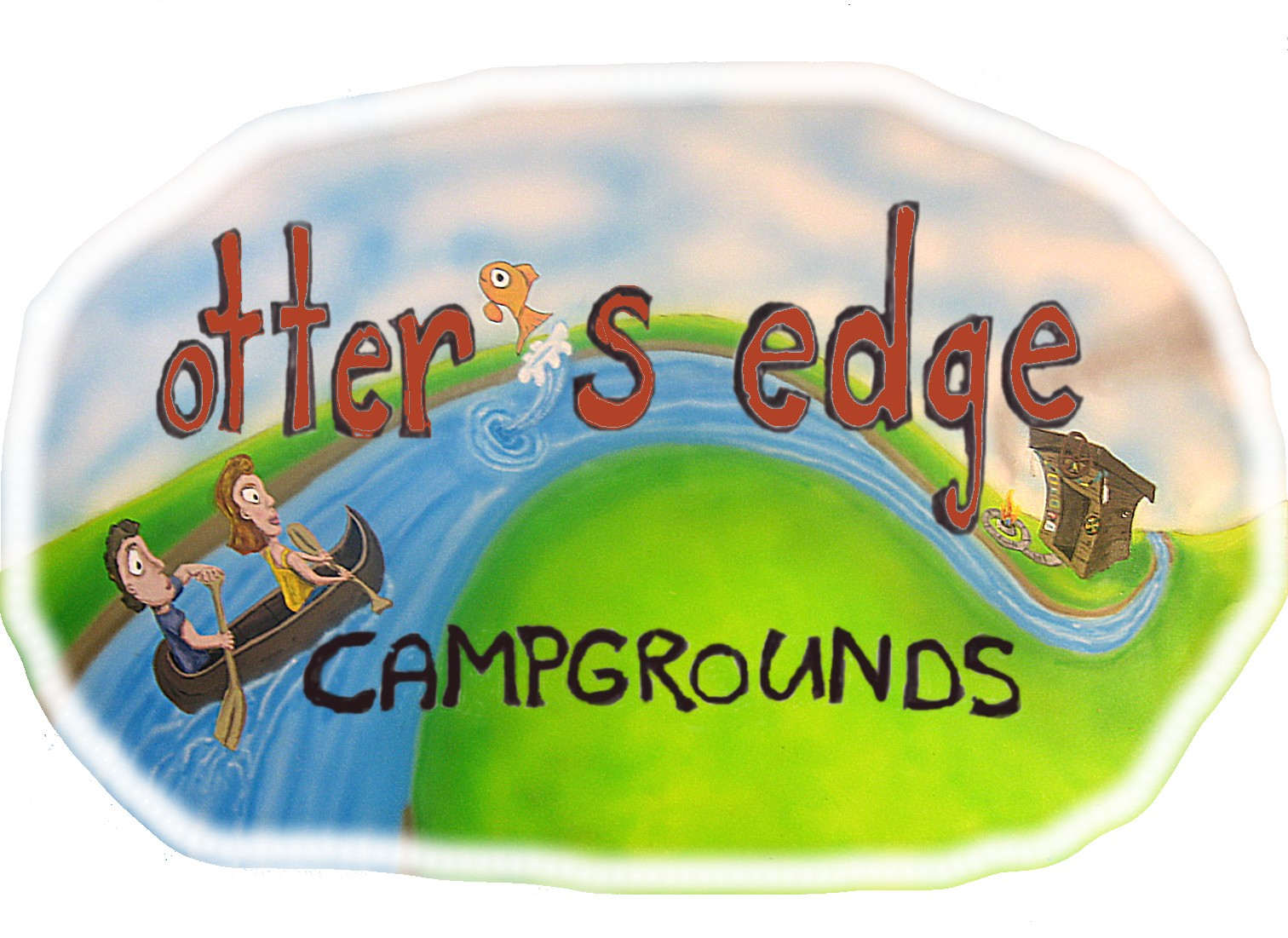 otter's edge campgrounds logo