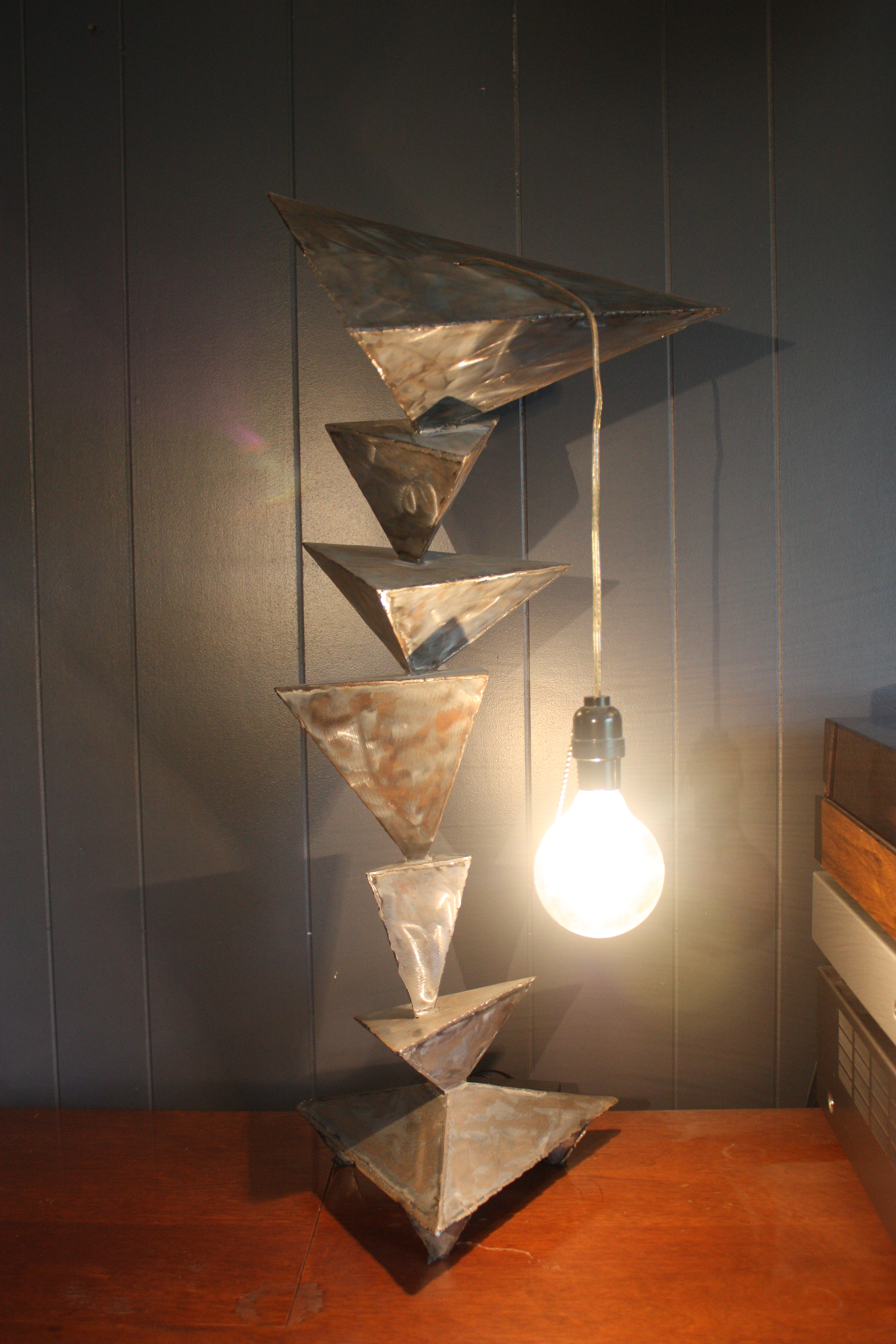 triangle lamp series