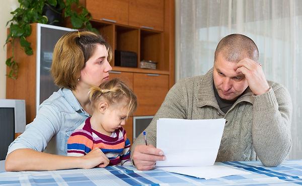 ģimenes maksātnespēja