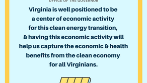 Governor Northam makes executive order to expand renewable energy and promote green jobs