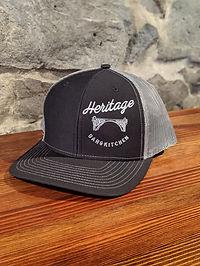 Heritage Black Classic Trucker Hat Pictu