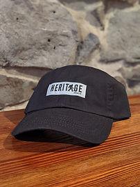 Heritage Dad Hat Black.jpg