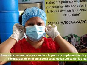 Gobernanza comunitaria para reducir la pobreza implementando procesos certificados de miel