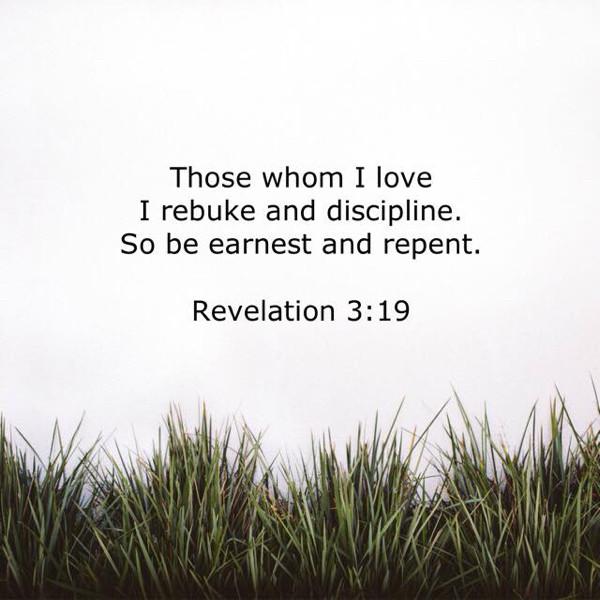 God's Loving Discipline