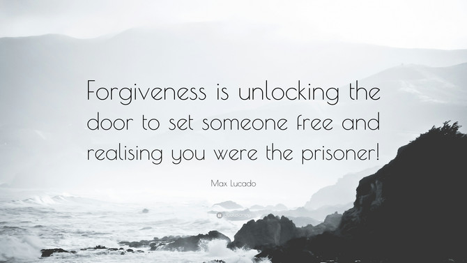 Forgiving Others...Has Someone Offended You?