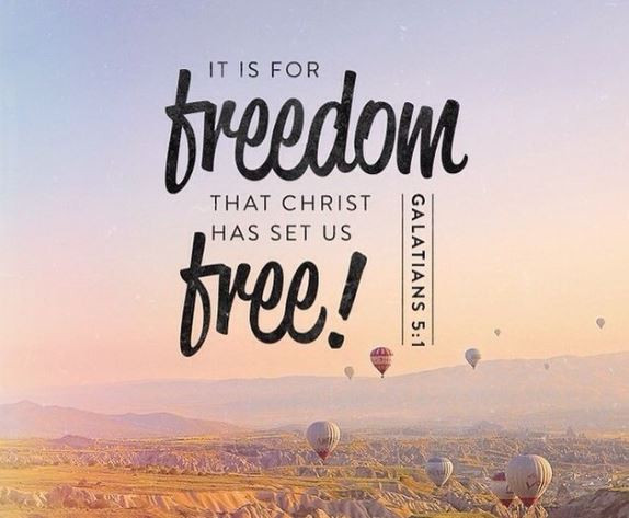 You Can Be Free Indeed