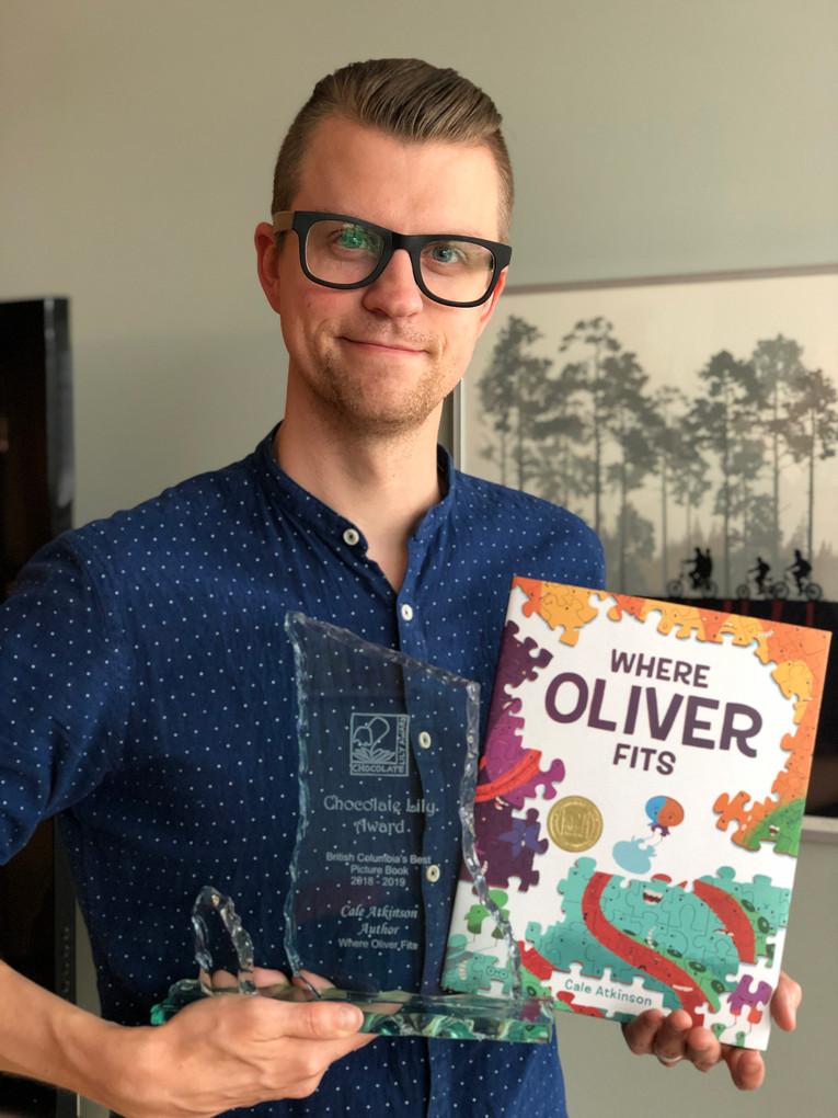 Cale Atkinson 2019 Picture Book Award Winner