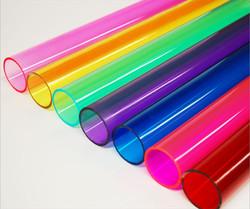 Cijevi u boji plexiglas
