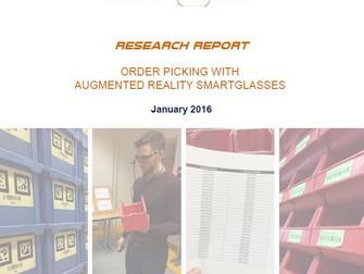 Order Picking with AR Smartglasses