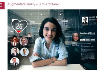 Augmented Reality - Is this for Real?