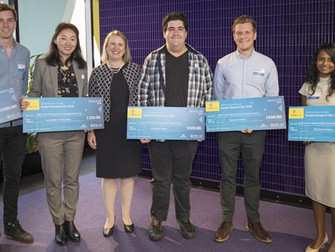 Our research places first in UNSW Business school's research fair
