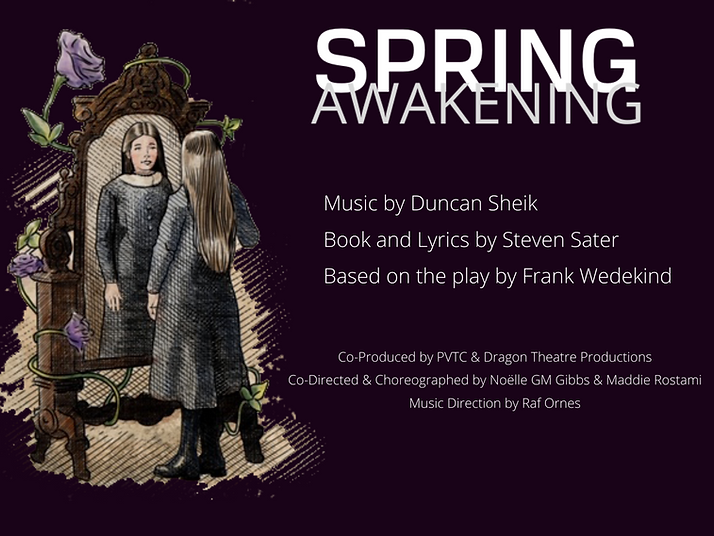 Copy of Spring Awakening Program Cover (