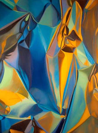 "Plasticity, 2015, oil on canvas, 48"" x 36"""