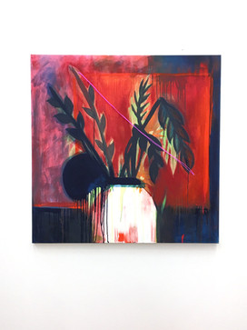 Contemporary abstraction - Crissy Navarro
