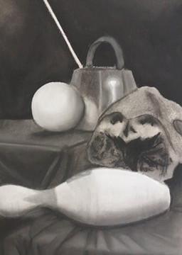 Charcoal still life - Lizzie Casper