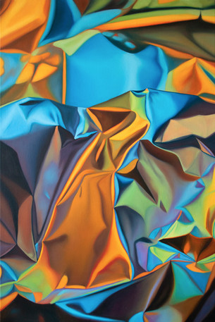"""Wave, 2019, oil on canvas, 36"""" x 24"""""""