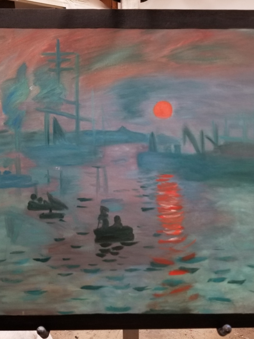 Master copy (Monet) - Kiona Goodman