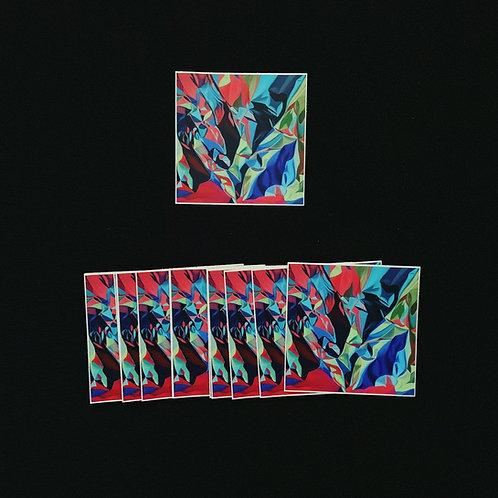 𝘚𝘵𝘳𝘪𝘬𝘦 Square Sticker