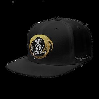 Snapback Black Gold.png