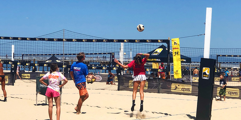 Beach Volleyball Camp - Pacific Palisades