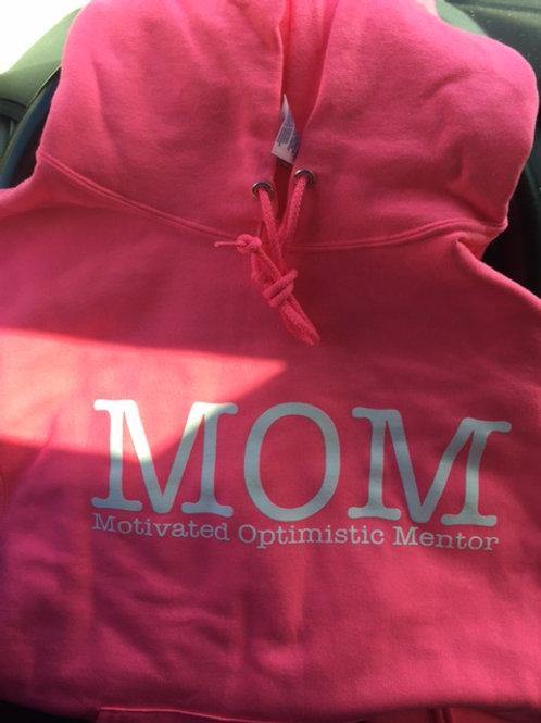 MOM (Motivated Optimistic Mentor) hoodie