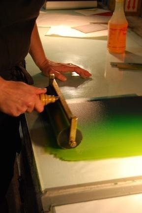 5 Inking Rainbow Roll