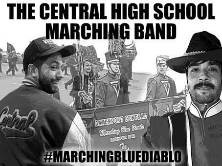 THE CENTRAL HS MARCHING BAND - January 2020 Artist of the Month - #marchingbluediablo