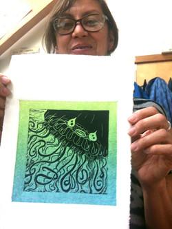 2 Lynn Bryant with Jellyfish