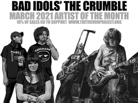 Bad Idols - Lopiez Pizza of the Month March 2021 #thecrumblepizza