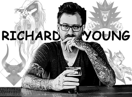 RICHARD YOUNG - November 2019 Artist of the Month -  #plusultra  #lopiezpizza