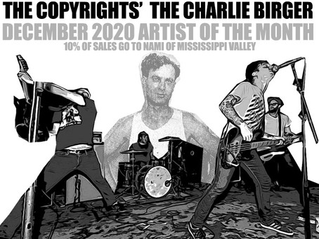 The Copyrights - Lopiez Pizza's December 2020 Artist of the Month #thecharliebirger