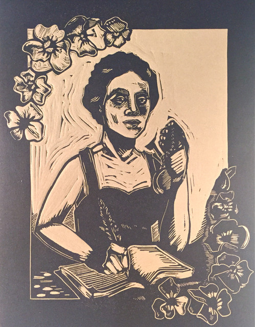 She Wrote of Violets (Alice Dunbar-Nelson)