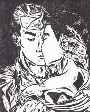 Untitled [kiss]