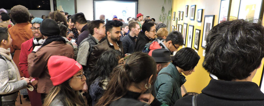 _2018 Opening Reception_ Looking at Art