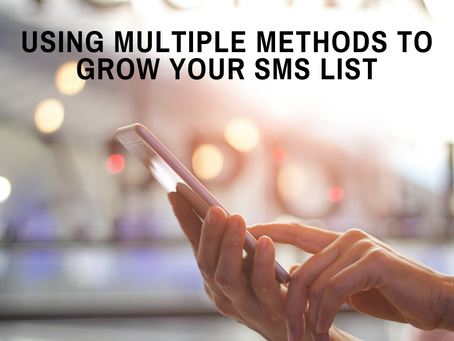 Growing Your SMS List