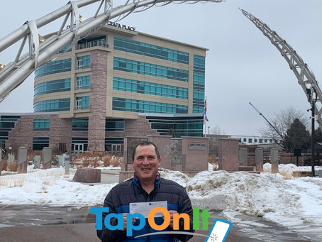 Mark Nelson of Sioux Falls Wins TapOnIt's Nationwide $5,000 Cash Giveaway