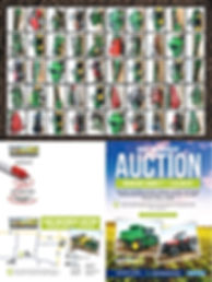 wieman auction flyer designed by age media