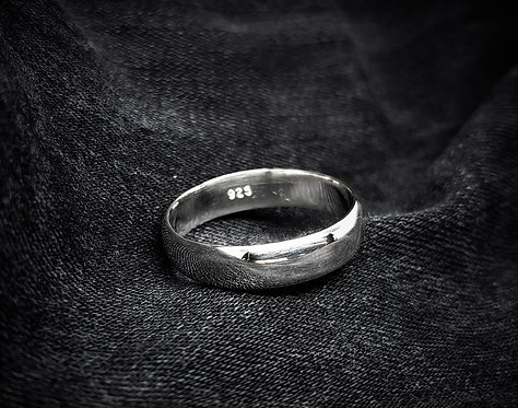 Wide Polished Ring Band 925 Sterling Silver Ring Band
