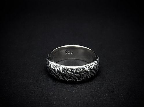 The 'Ragged Ring' 925 Sterling Silver