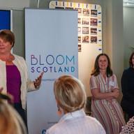 Bloom Scotland launch event - Melinda Ma