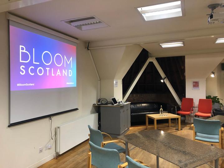 Bloom Scotland Champions of Parental Lea