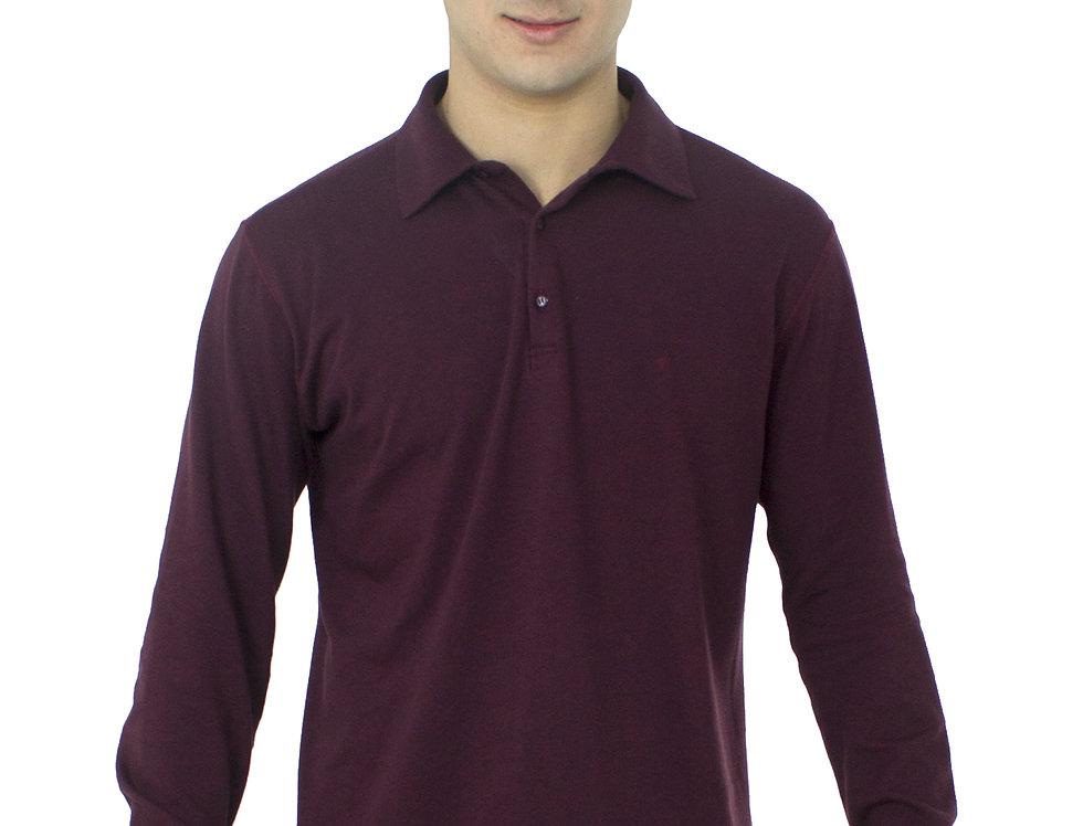 Camiseta Polo M/L Malhão