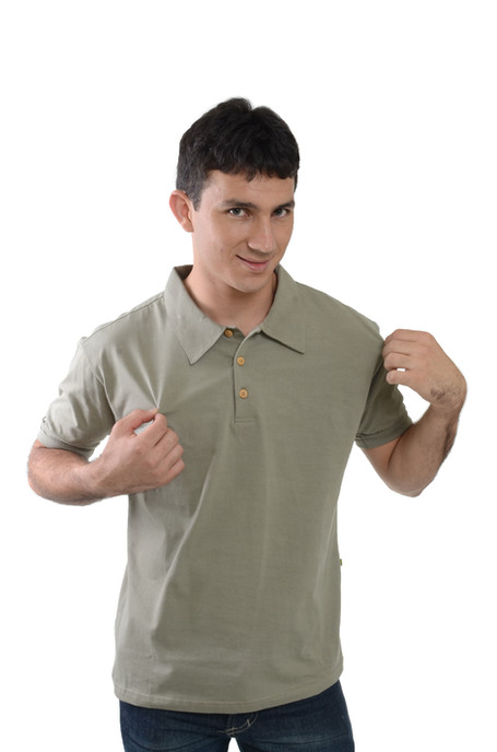 Camiseta Polo de Malha - SKU _  30061 D