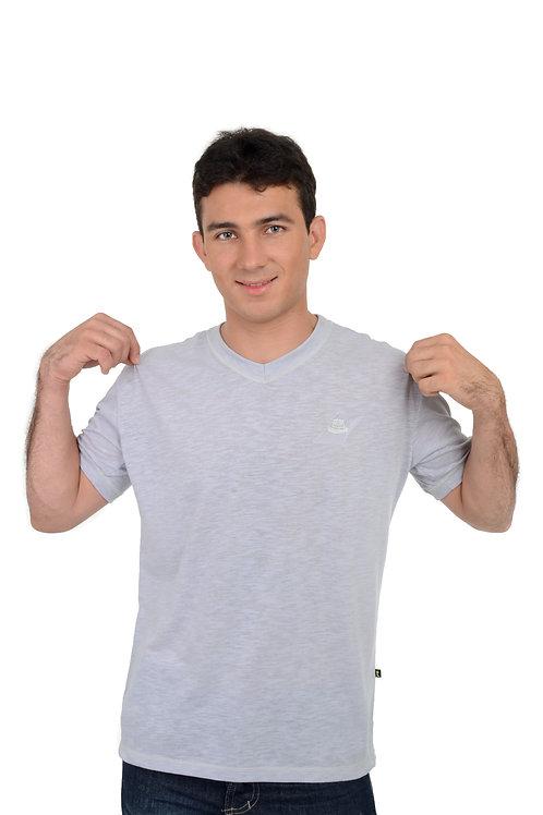 Camiseta Flamê Decote V