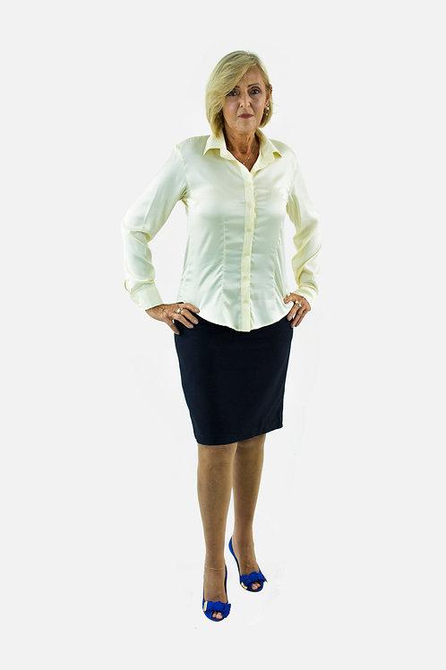 Camisa Feminina de Cetim